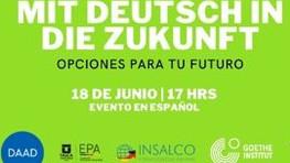 Mit Deutsch in die Zukunft – Opciones para el futuro