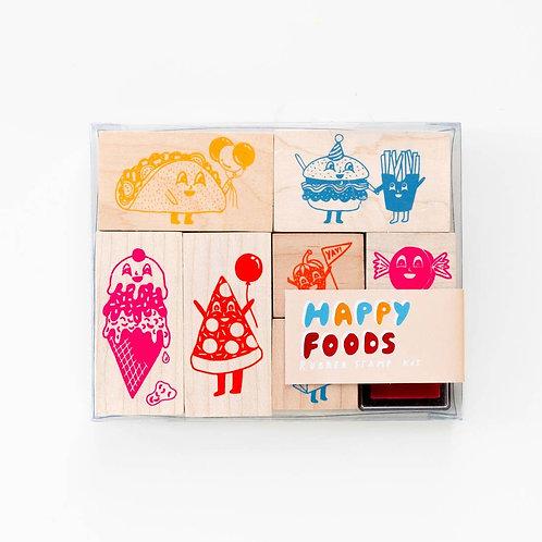 Happy Food Stamp Kit