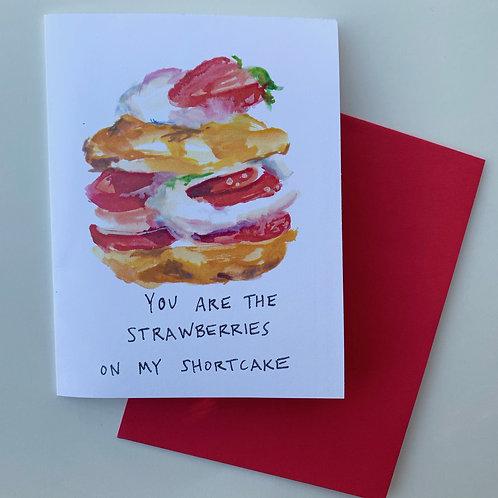 Strawberry Shortcake Card