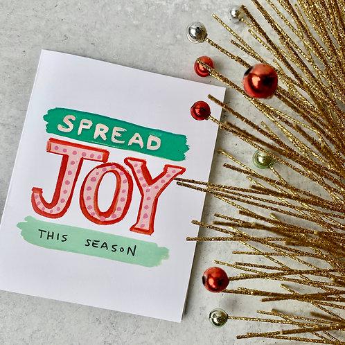 Spread Joy Card