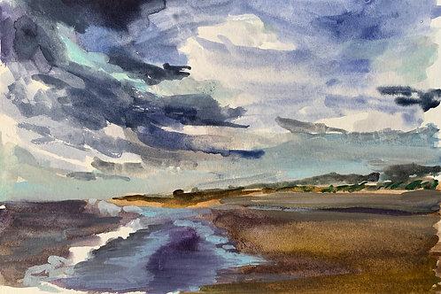 Plum Island Watercolor