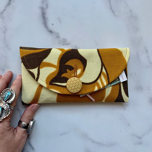 Butterscotch Rounded Clutch