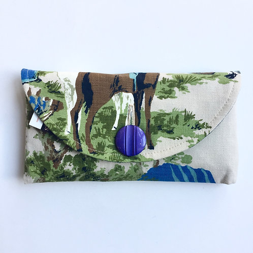 Ponyboy Rounded Clutch