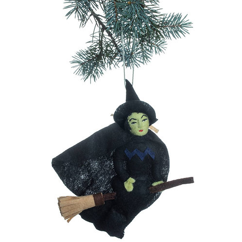 Wicked Witch Felted Ornament