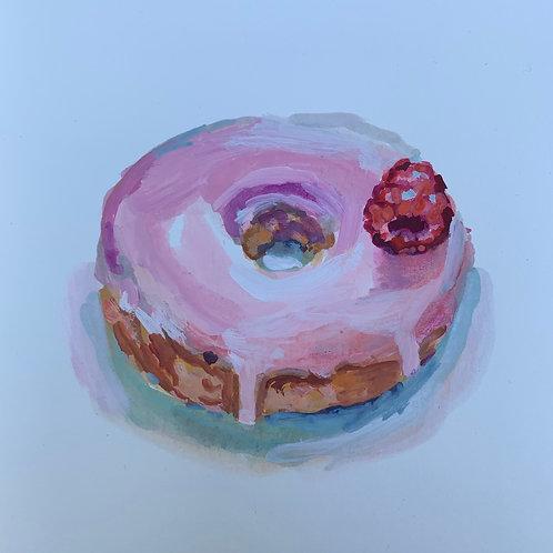Raspberry Donut