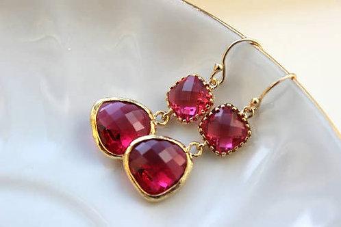 Fuchsia Earrings