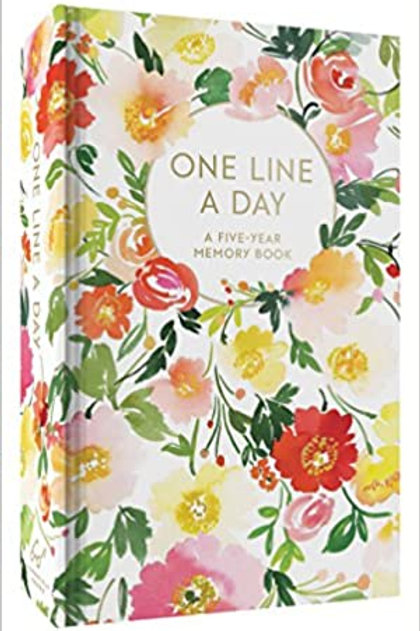 One Line a Day - Floral Journal