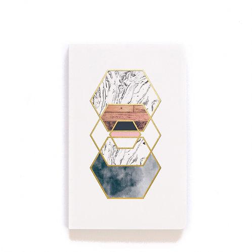 Gold Hex Journal