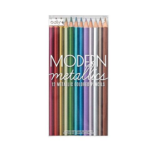 Modern Metallics Pencils