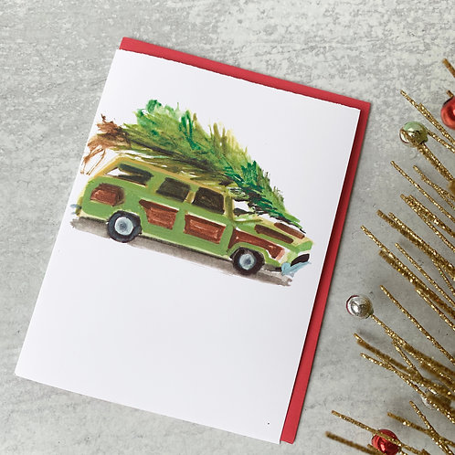 Griswold Wagon Card