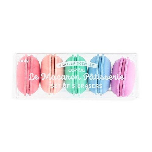 Macaron Eraser Set
