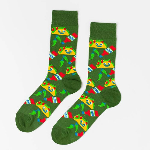 Mens Taco Socks