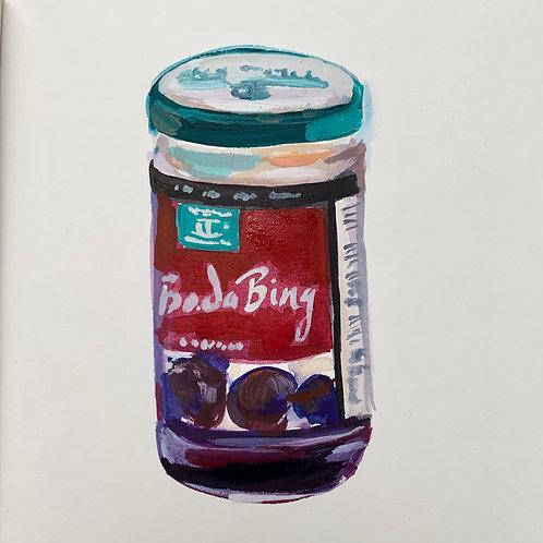 Fridge Portrait: Bada Bing Cherries
