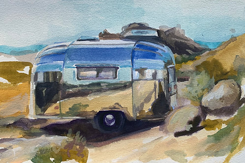 Seclusion #10 Watercolor