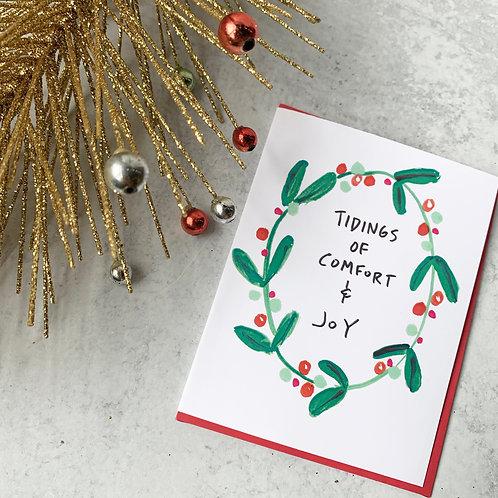 Comfort & Joy Card