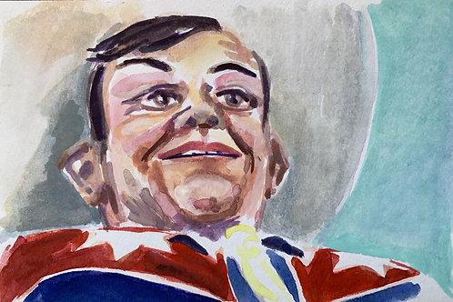 Big Tex #9 Watercolor
