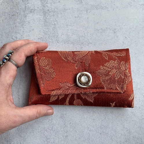 Apple Picking Small Clutch
