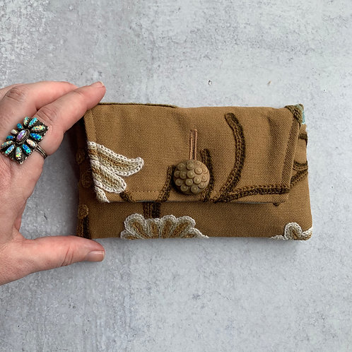 Crewel Small Clutch