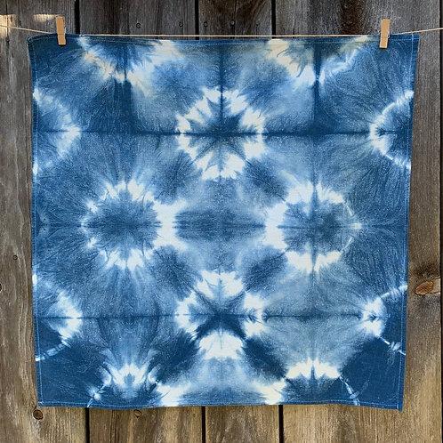 Shibori Stars Towel
