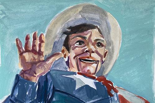 Big Tex #2 Watercolor