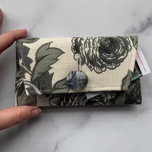 Gris Small Clutch