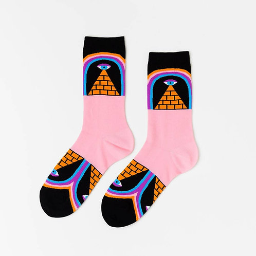 Magic Pyramid Socks