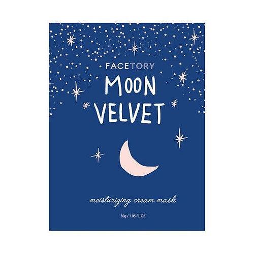 Moon Velvet Mask