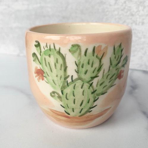 Blush Opuntia Cup