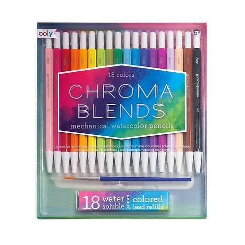 Chroma Blends Mechanical Watercolor Pencils