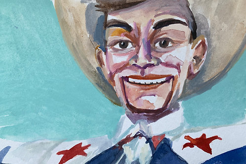 Big Tex #1 Watercolor