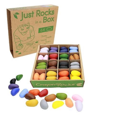 Crayon Rocks in a Box