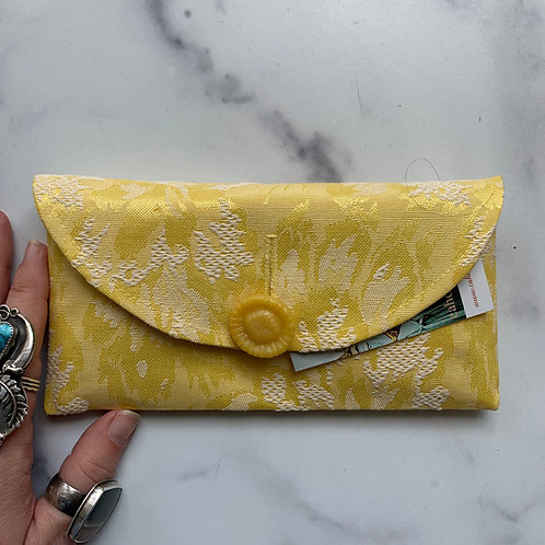 Lemonade Rounded Clutch