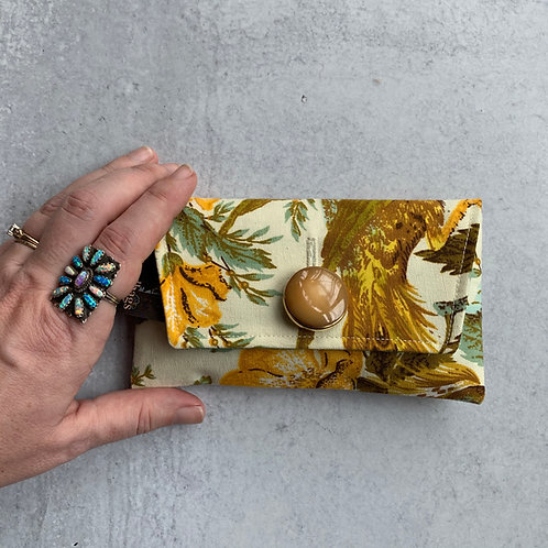 Feathered Friend  Small Clutch