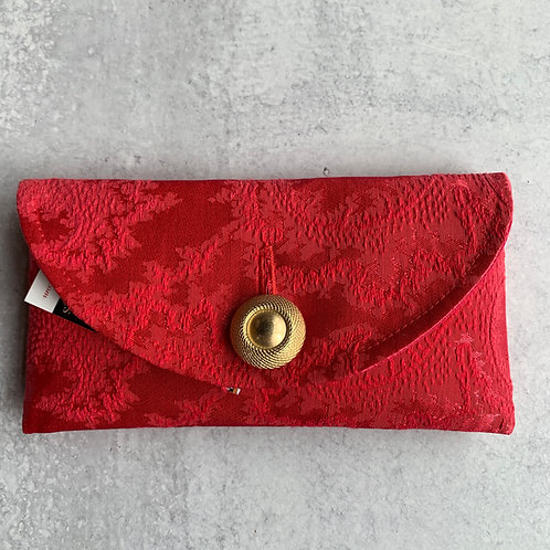 Cherry Cherry Rounded Clutch