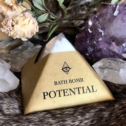 Potential Bath Bomb