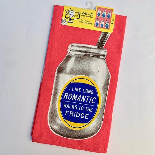 Long Romantic Walks Towel