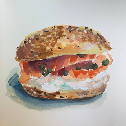 Loaded Everything Bagel