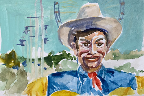 Big Tex #7 Watercolor