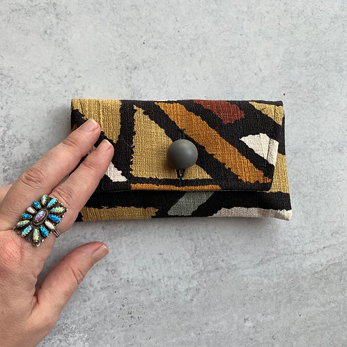 Puzzler Small Clutch