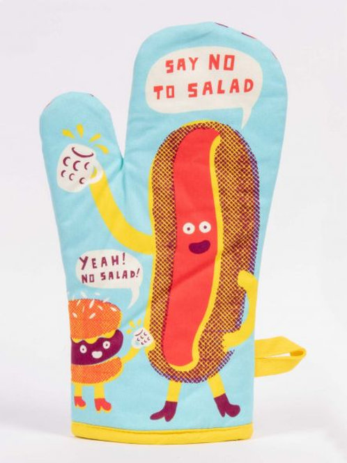 Say No To Salads Oven Mitt