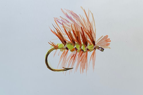Elk Hair Caddis - Olive