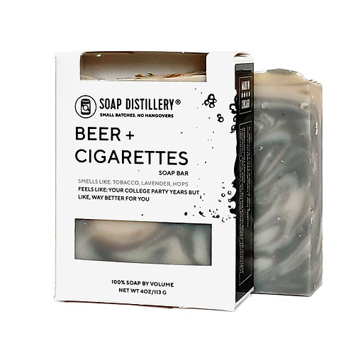 Beer & Cigarettes Soap