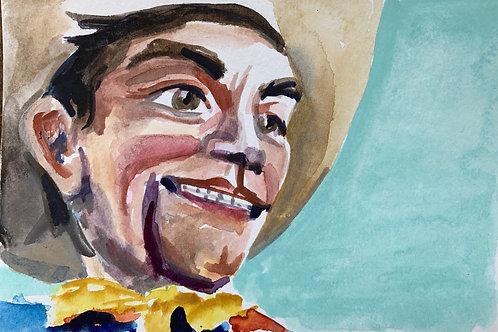 Big Tex #10 Watercolor