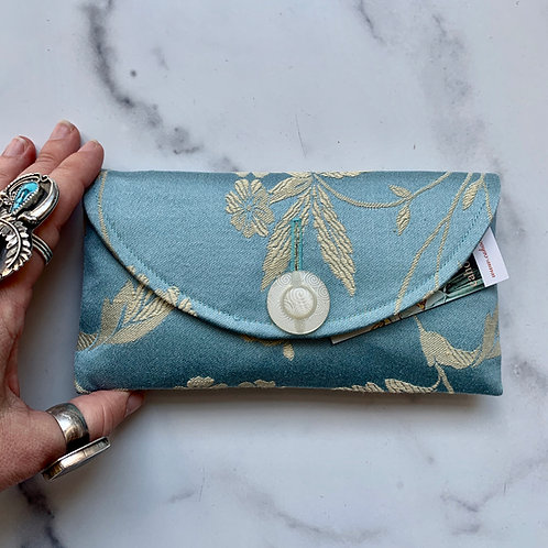 Something Blue Rounded Clutch