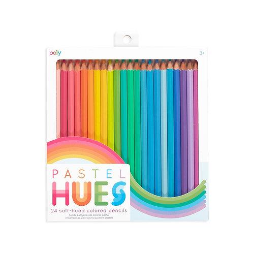 Pastel Hues Pencils