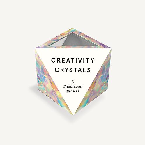 Creativity Crystals Eraser Set