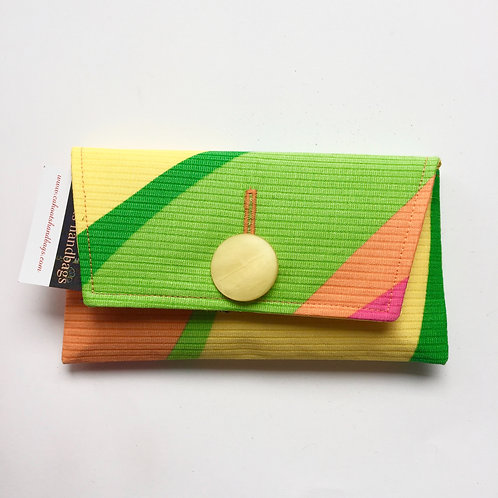 Neon Rainbow Small Clutch