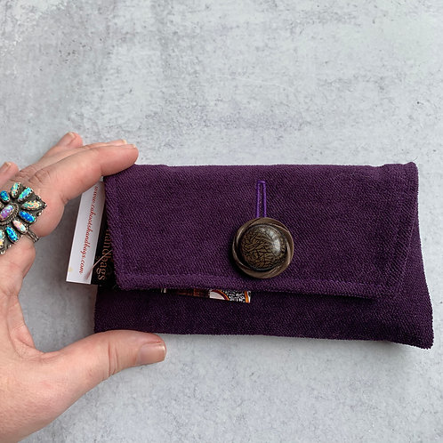 Plum Pudding Small Clutch