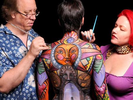Reidsville bodypaint artists win 7th World Bodypainting Festival trophy
