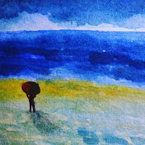 The shore   海岸